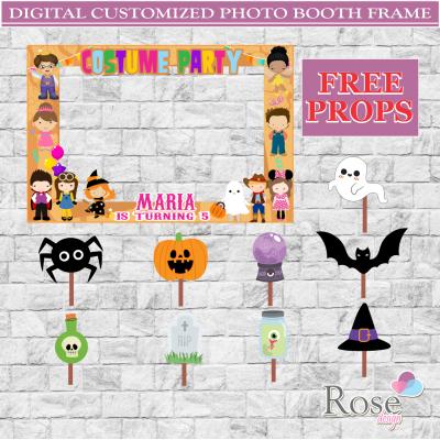Halloween Photo booth,...