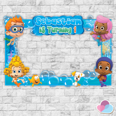 Bubble Guppies Photo Booth...
