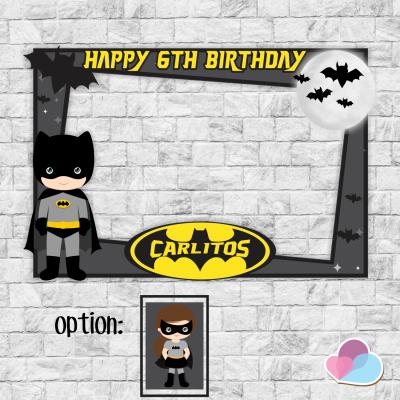 Batman Photo Booth frame,...
