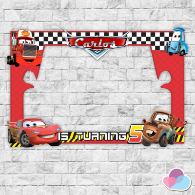 Disney Cars Photo Booth...