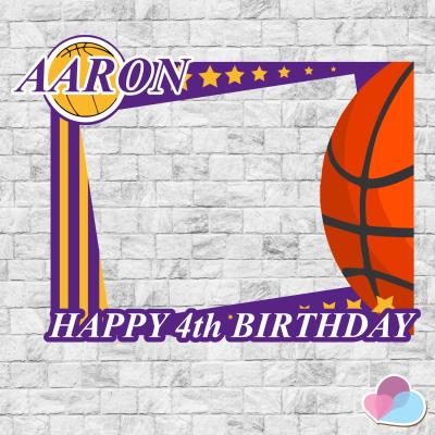 Basketball Photo Booth...