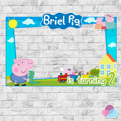 Peppa Pig Photo Booth...