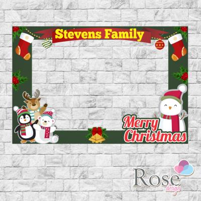 Christmas photo booth,...
