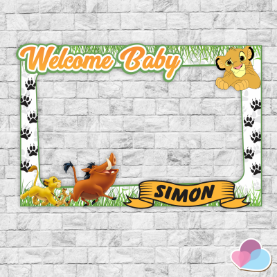 Simba Photo Booth frame,...