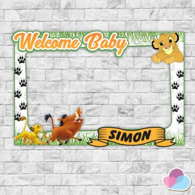 Simba Photo Booth frame,...
